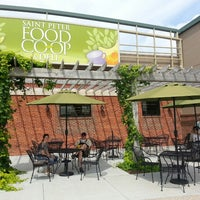 Photo taken at St. Peter Food Co-op & Deli by Stefanie K. on 8/5/2014