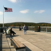 Photo taken at Walkway Over the Hudson State Historic Park by Rominna on 10/14/2012