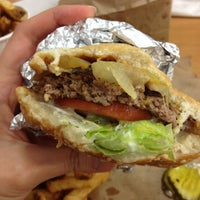 Photo taken at Five Guys by Elle S. on 11/21/2012