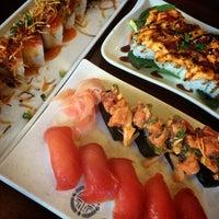 Photo taken at Ninja Sushi by 👑 @coryjim . on 7/4/2014