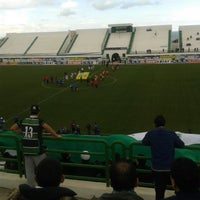 Photo taken at Stade Slaheddine Bey (CSHL) by Mehdi M. on 2/14/2015
