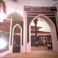 Photo taken at Masjid Raya Jatimulya by nasrulloh h. on 10/15/2013