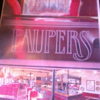Photo taken at Paupers Pub by 📲 Reid E. on 5/1/2012