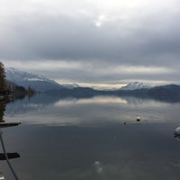 Photo taken at Seebad & Seebistro Seeliken Zug by Michael K. on 11/13/2016