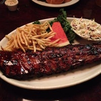 Photo taken at Lucille's Smokehouse Bar-B-Que by Gaurav A. on 12/3/2012