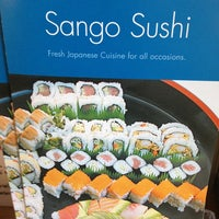 Photo taken at Sango Sushi by Lauren S. on 8/27/2013