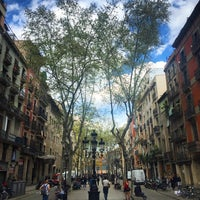 Photo taken at Passeig del Born by Apolo F. on 5/6/2016