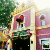 Photo taken at Disneyland Fire Department No. 1 by Melissa L. on 12/16/2012