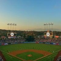Photo taken at Dodger Stadium by Melissa L. on 6/9/2013