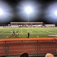 Photo taken at Sunset Stadium by Brandon F. on 10/26/2013