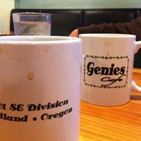 Photo taken at Genies Cafe by Jason L. on 2/20/2013