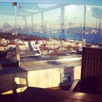 Photo taken at Conrad Teras Restaurant by Derya A. on 2/16/2014