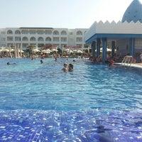 Photo taken at RIU Palace Hammamet Marhaba by Asma M. on 8/6/2014