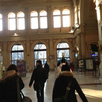 Photo taken at Stazione Trieste Centrale by Settesoffici s. on 2/15/2013