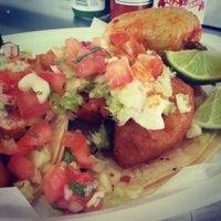 Photo taken at Tacos Baja Ensenada by Josh P. on 4/5/2013