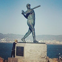 Photo taken at McCovey Cove by Kolean B. on 4/9/2013