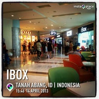 Photo taken at iBox by Hendra A. on 4/14/2013