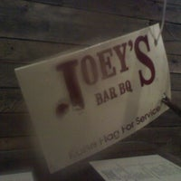 Photo taken at Joey's Bar-B-Q by Luis on 11/4/2012
