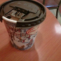 Photo taken at Tim Hortons by Mary G. on 12/5/2013