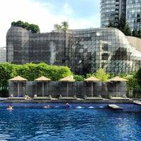 Photo taken at Marriott Singapore Tang Plaza by Sebastian B. on 7/21/2013