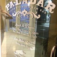 Photo taken at Paladar Latin Kitchen & Rum Bar by Dan H. on 9/13/2013