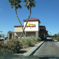 Photo taken at In-N-Out Burger by Christine O. on 3/4/2013