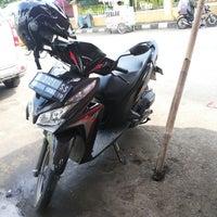 Photo taken at Alun-Alun Karawang by Risma S. on 5/19/2014