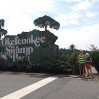Photo taken at Okefenokee Swamp Park by Elizabeth R. on 7/5/2014