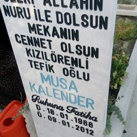 Photo taken at Hocacihan Mezarlığı by Rabia G. on 7/23/2016