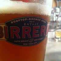 Photo taken at Birreria at Eataly by Benjamin C. on 10/24/2012