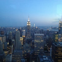 Photo taken at Top of The Rock Observation Deck by Thierry M. on 7/6/2013