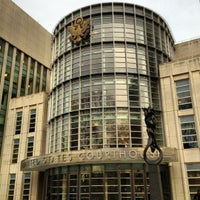 Photo taken at Theodore Roosevelt Federal Courthouse (U.S. District Court) by jnozsc on 12/12/2012