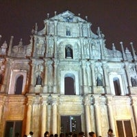 Photo taken at Ruins of St. Paul's by ใหม่ A. on 2/24/2013