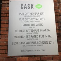Photo taken at CASK Pub And Kitchen by Dylan F. on 4/8/2013