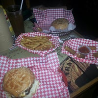 "Photo taken at ""a"" la Burger by Fernando M. on 7/27/2014"
