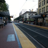 Photo taken at 5th Ave Trolley Station by Moo J. on 1/23/2015