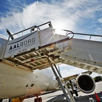 Photo taken at Aalborg Airport (AAL) by Aalborg Airport (AAL) on 10/25/2016