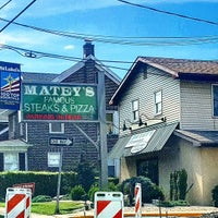 Photo taken at Matey's Famous Steaks & Pizza by Josh P. on 8/17/2016