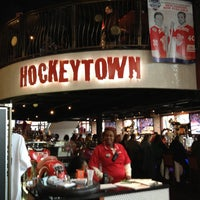 Photo taken at Hockeytown Cafe by Chris S. on 4/11/2013