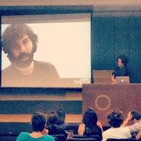 Photo taken at Auditório Ariosto Mila (FAU/USP) by Marcelo L. on 10/3/2012