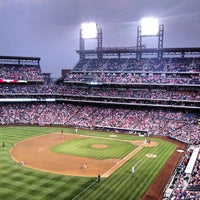 Photo taken at Citizens Bank Park by Michael P. on 6/4/2013