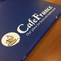 Photo taken at CafeFrance by Mark A. on 8/25/2016