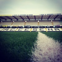 Photo taken at Orogel Stadium Dino Manuzzi by Andrea P. on 6/24/2013