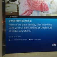 Photo taken at Citibank by Yong J. on 4/27/2016