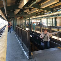 Photo taken at MTA Subway - Bay Parkway (D) by Dennis F. on 4/17/2016