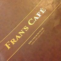 Photo taken at Fran's Café by Priscila Yumi F. on 5/27/2013