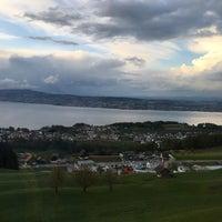 Photo taken at Panorama Resort Feusisberg by oktay a. on 4/24/2016