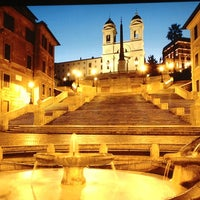 Photo taken at Piazza di Spagna by Joe Artid F. on 7/8/2013