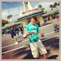 Photo taken at Crossroads of the World by Adrian C. on 5/16/2013