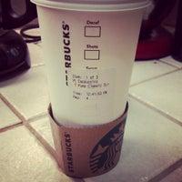 Photo taken at Starbucks by Jennie V. on 3/1/2013